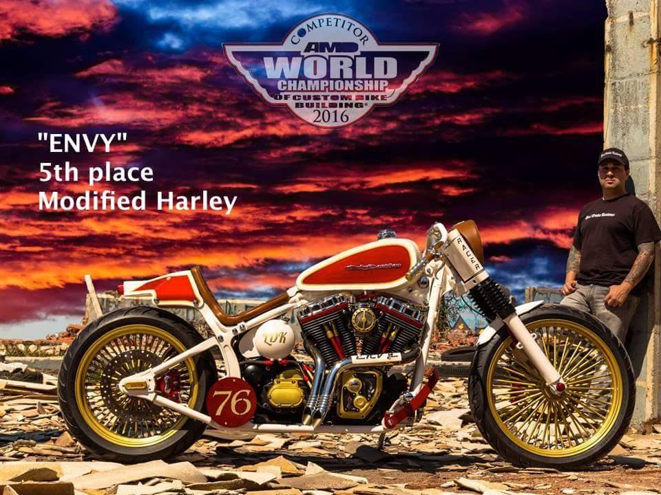 Lord Drake Kustoms construye la 5a. mejor Harley del Mundo 16bzre0
