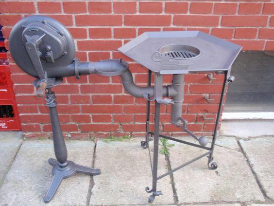 Fragua a super gas y aire forzado (secador de pelo) 174jm8