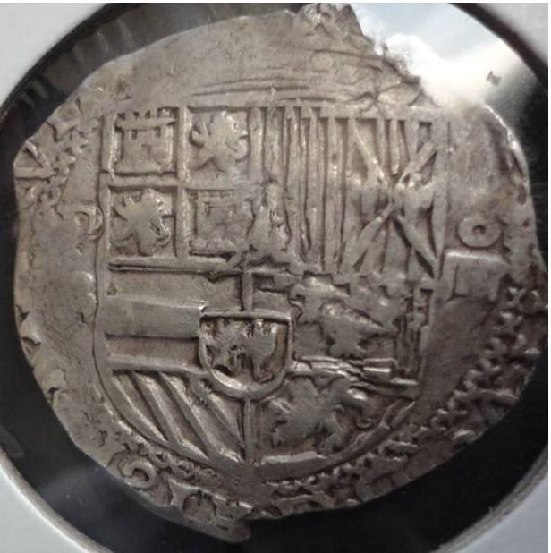 8 reales S/F (1577-1585). Felipe II. Potosí 1qqts7