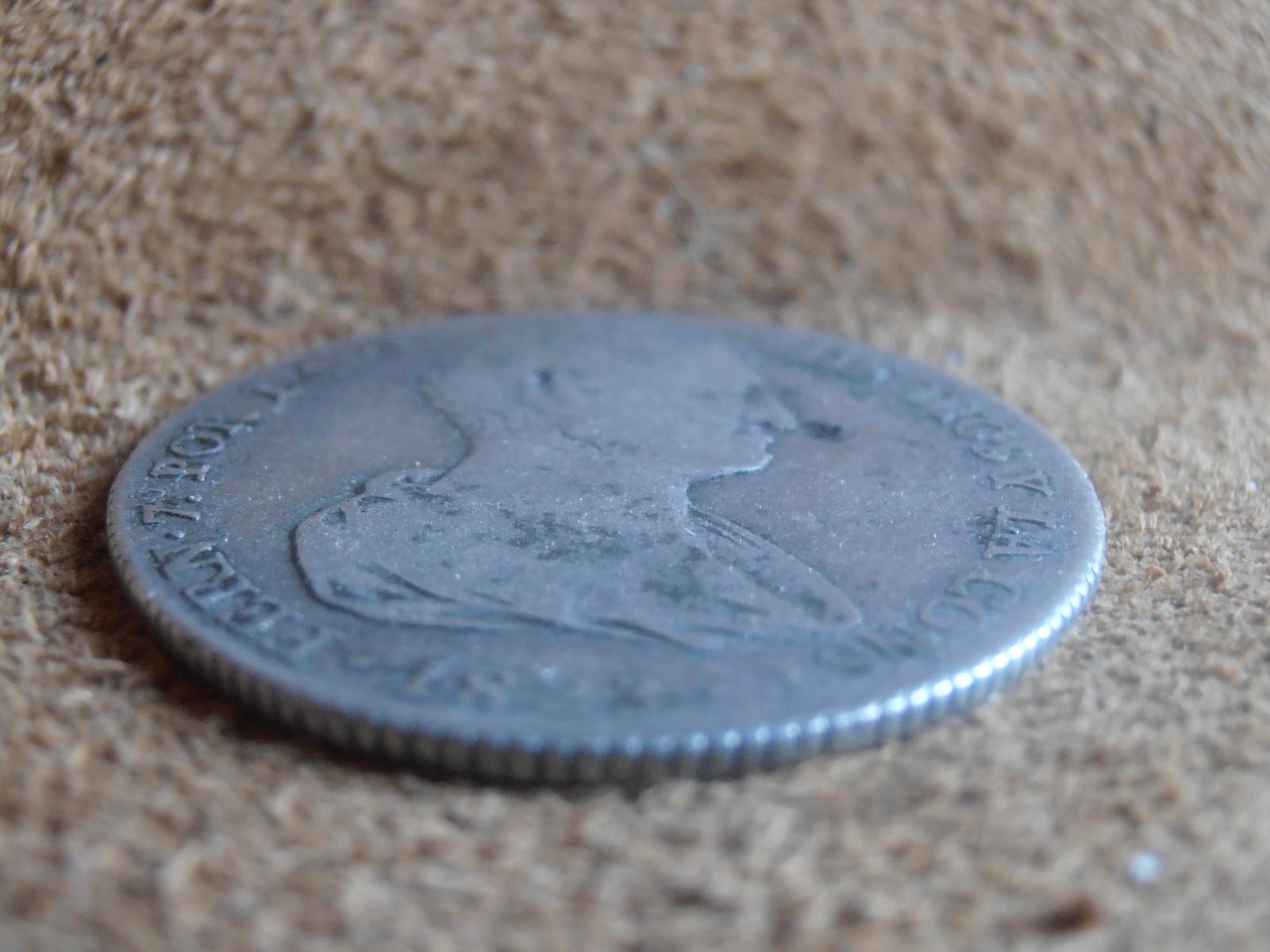 4 reales 1823. Fernando VII. Valencia (Módulo 2 reales ) 1zd6r61