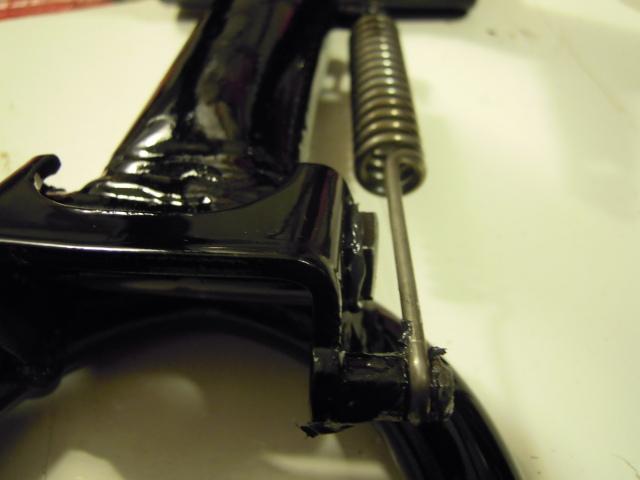 Mobylette Cady E-14 negra, Inicio restauracion. 1zpgrbq