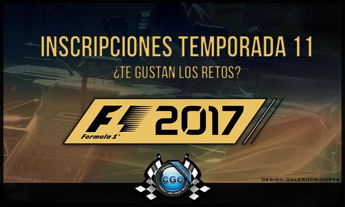 ▄▀▄▀▄▀ Inscripciones T11 | Campeonatos Grand Chelem | F1 2017 ▀▄▀▄▀▄   21176t1