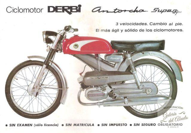 Derbi Antorcha Super primera serie 219x8k1