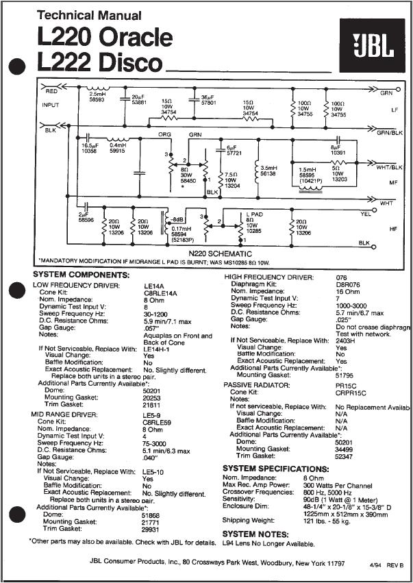 Columnas JBL L220 - Página 2 21oojzo