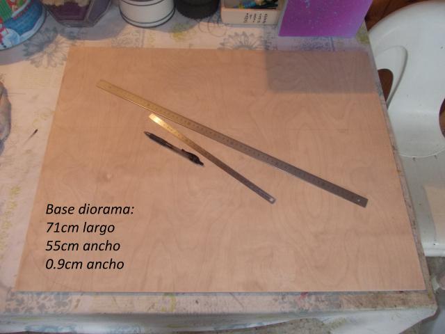 Diorama: garaje-taller crawler escala 1/10 23utw06