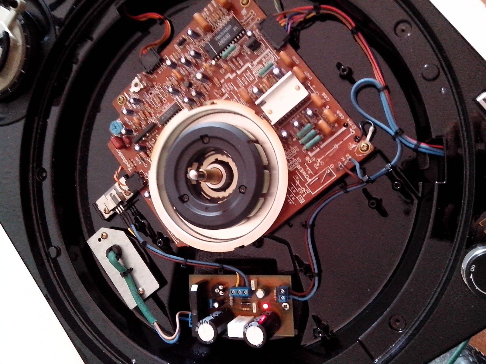 Restauración y mejora de un Technics SL1200 246o0ua