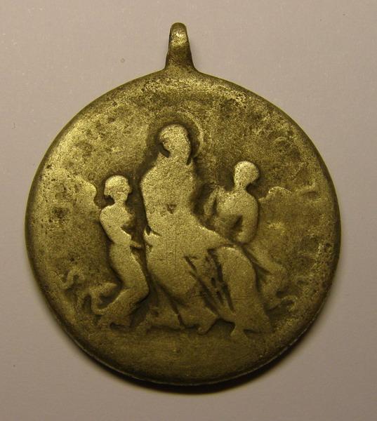 Medalla del Beato Francisco de San Miguel de la Parrilla y San Pedro Regalado. 257hjbl