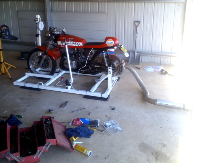 Bultaco build Australia + Records Mundiales Guinness de la velocidad 28l88bs