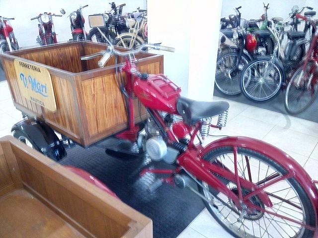 Motocarro Guzzi 65 cc 290qw6c