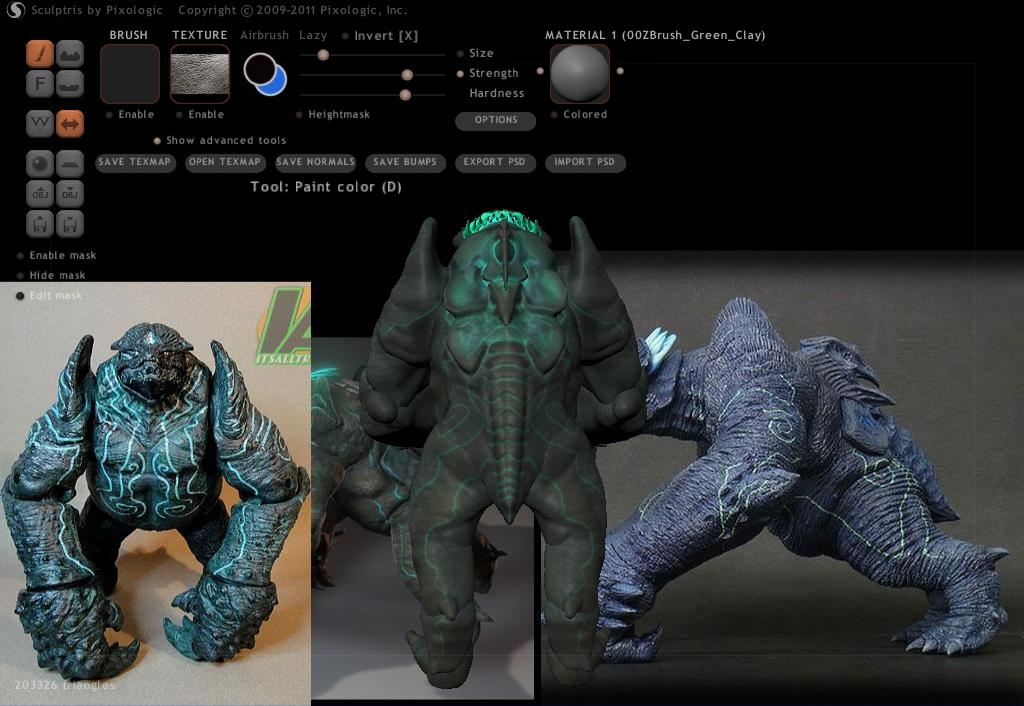Leatherback 3D Model - Pacific Rim 29vfr04