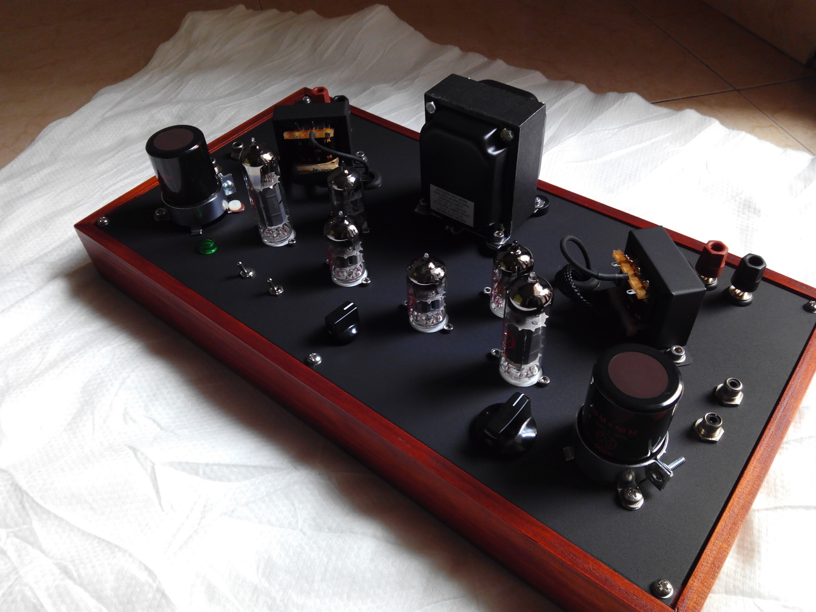 PHONO amp el84 single ended Clase A. 2a29s5