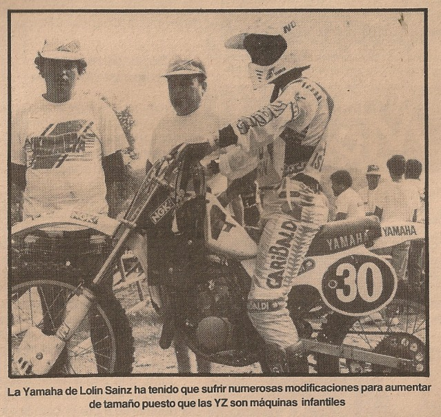 Las Motos de los Juniors 80 cc - 1985 2ahz6ee