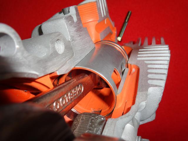 Motor seccionado para exposición 2aieqna