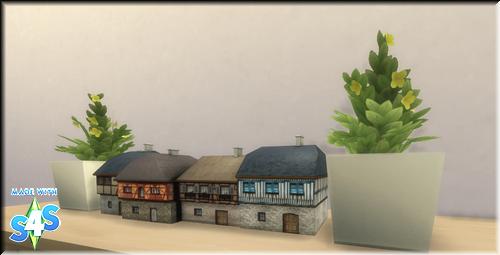 Deco Row Houses 2cdcz1s