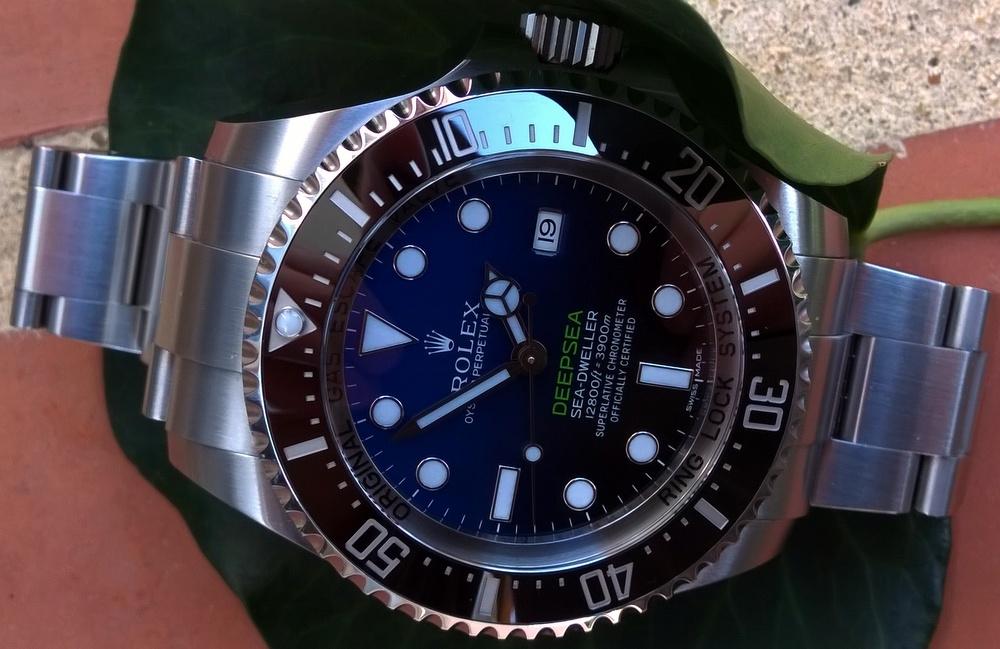 Présentation de la Rolex 116660 SDDS D-Blue James Cameron 2hx0d3l