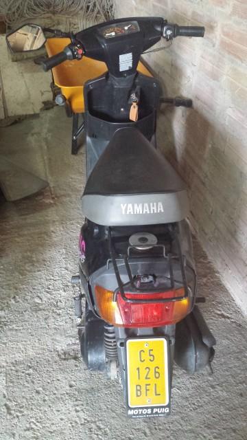Me han regalado una Yamaha Big Jog 2jlac