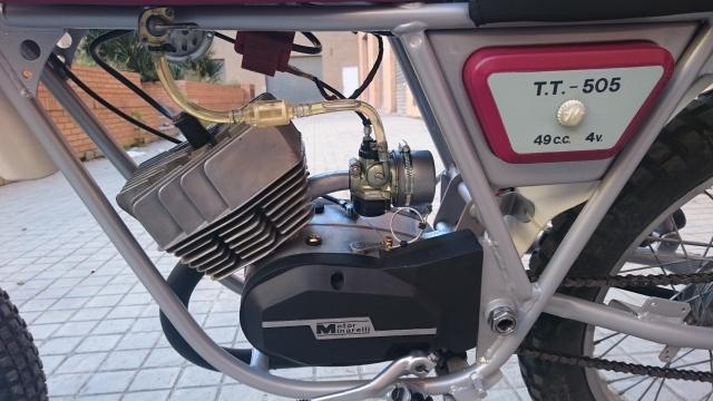 Proceso de restauración de Rieju TT 505 2lm7a77