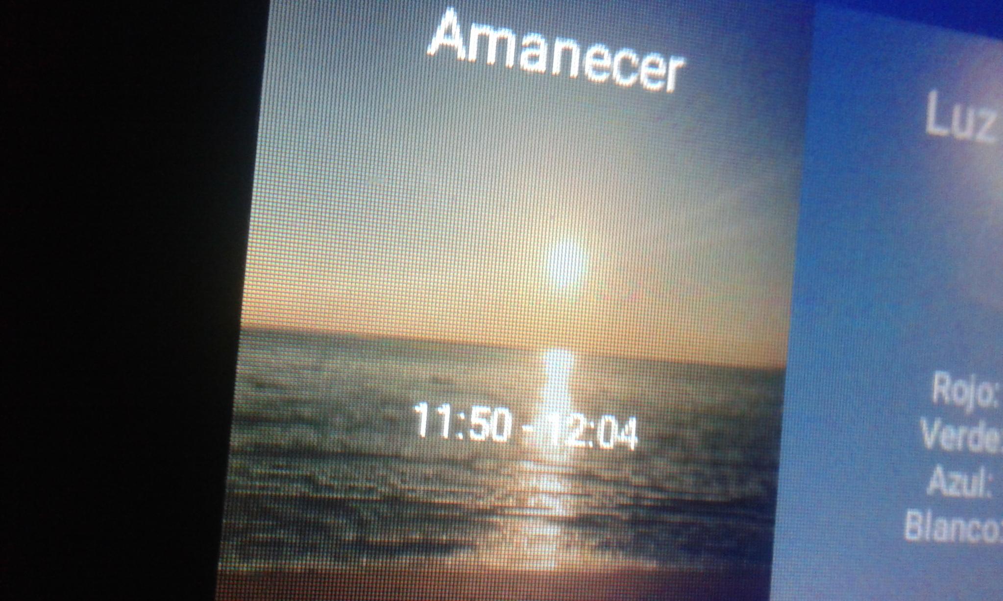 Probando la pantalla Fluval aquasky 2mhbxa9