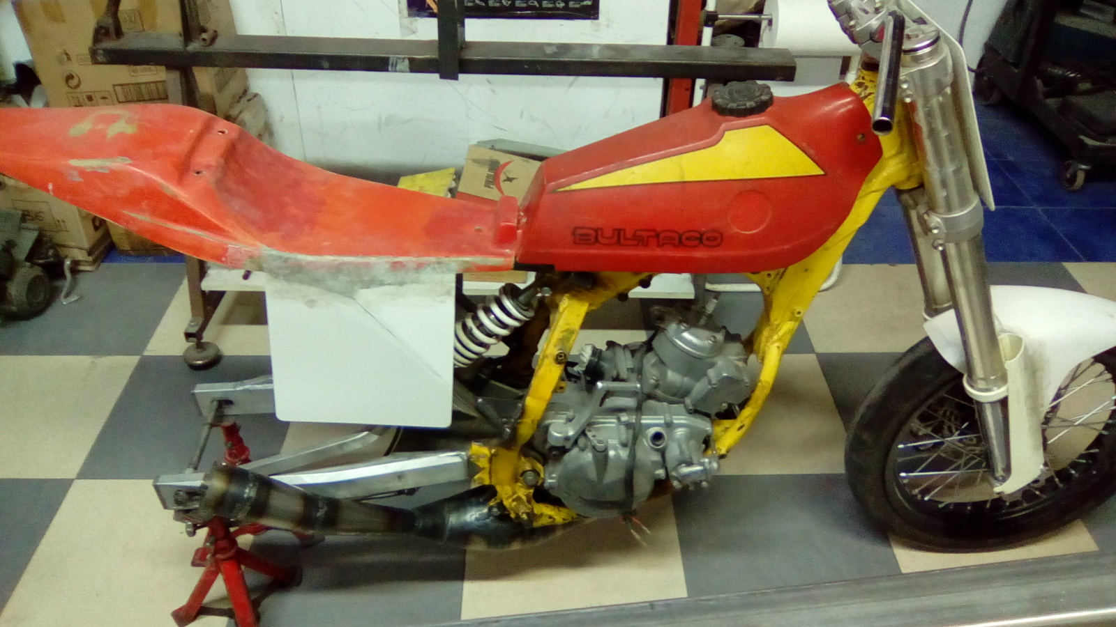 Proyecto Frontera 125 cc. Dirt-Track 2n0irev
