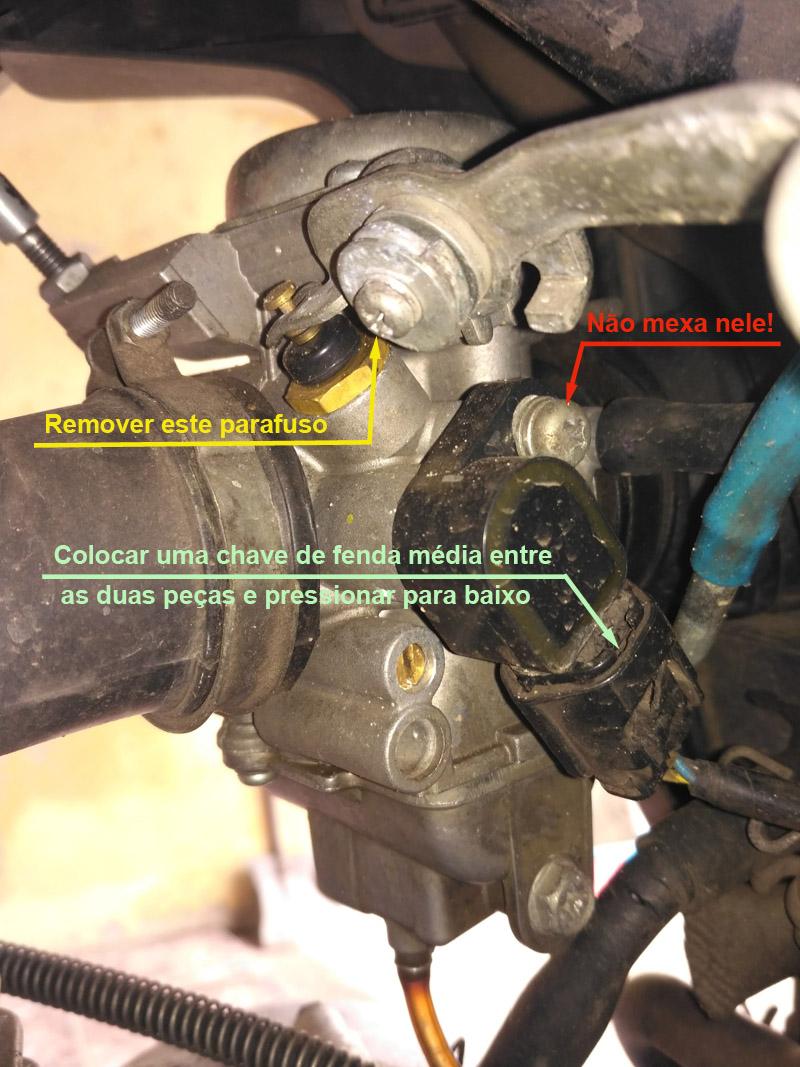combustivel - Tutorial - Como resolver o vazamento de combustível pelo respiro do carburador na YBR 125 Factor 2nko29h