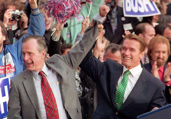 ¿Cuánto mide George H. W. Bush? - Real height 2nsnu61