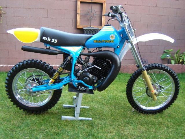 Pursang motor Yamaha 2nte7mx