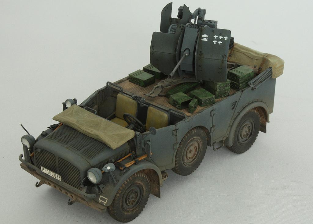 Horch Typ 1a w/2cm Flak 38 конверсия Tamiya+Dragon 1/35 2r7litx