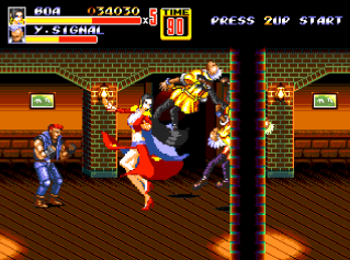 Streets Of Rage 2 - One piece- 2u3yzh5