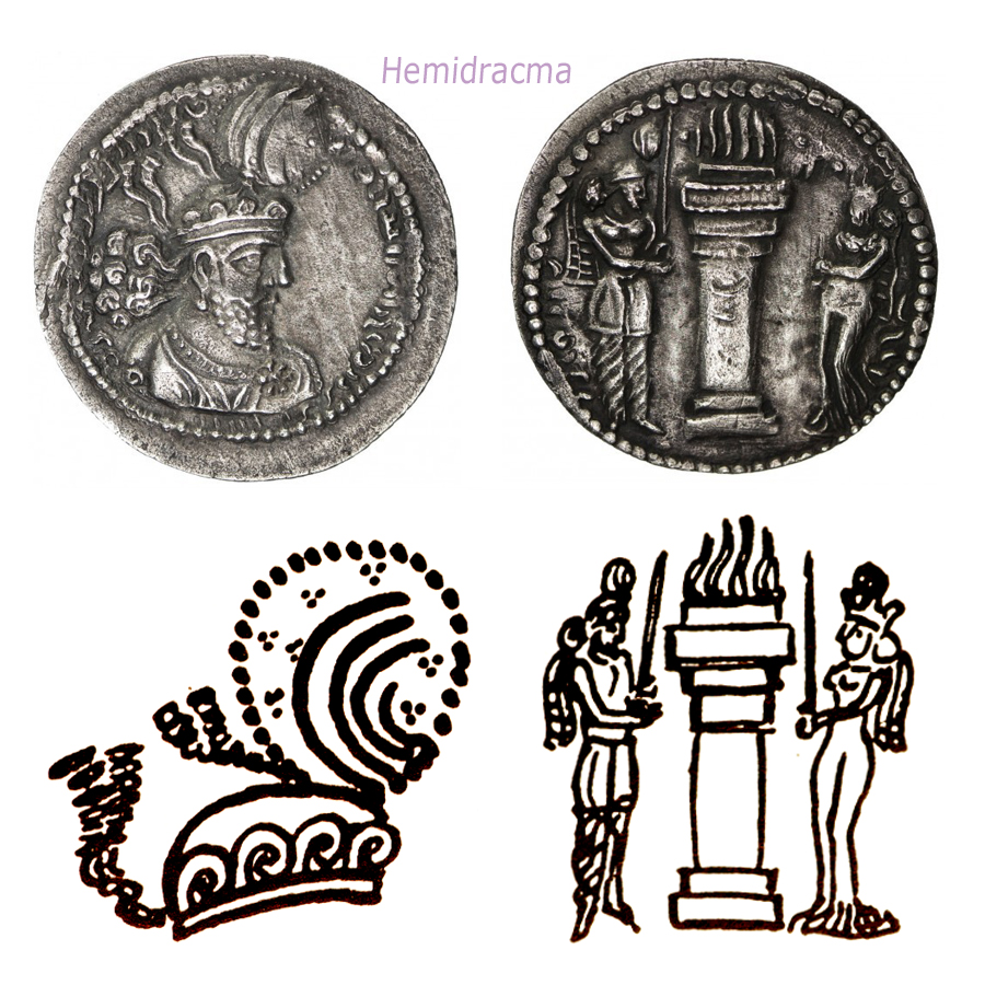 Las coronas de los shas de Persia. 2ue4dbp