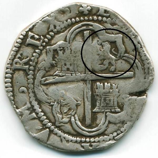 8 reales S/F (1577-1585). Felipe II. Potosí 2vb0z9z