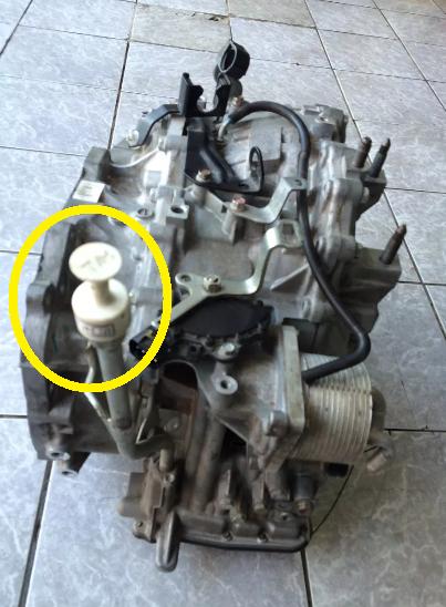 Nível de óleo do Cambio automático 2vn3rqp