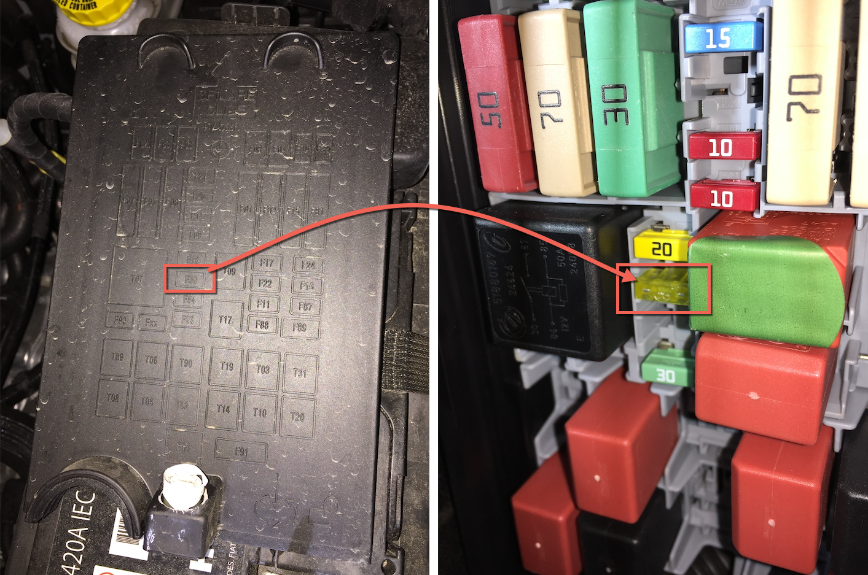 DIY: Tomada 12v - Como mante-la energizada mesmo sem chave 2w3ntja