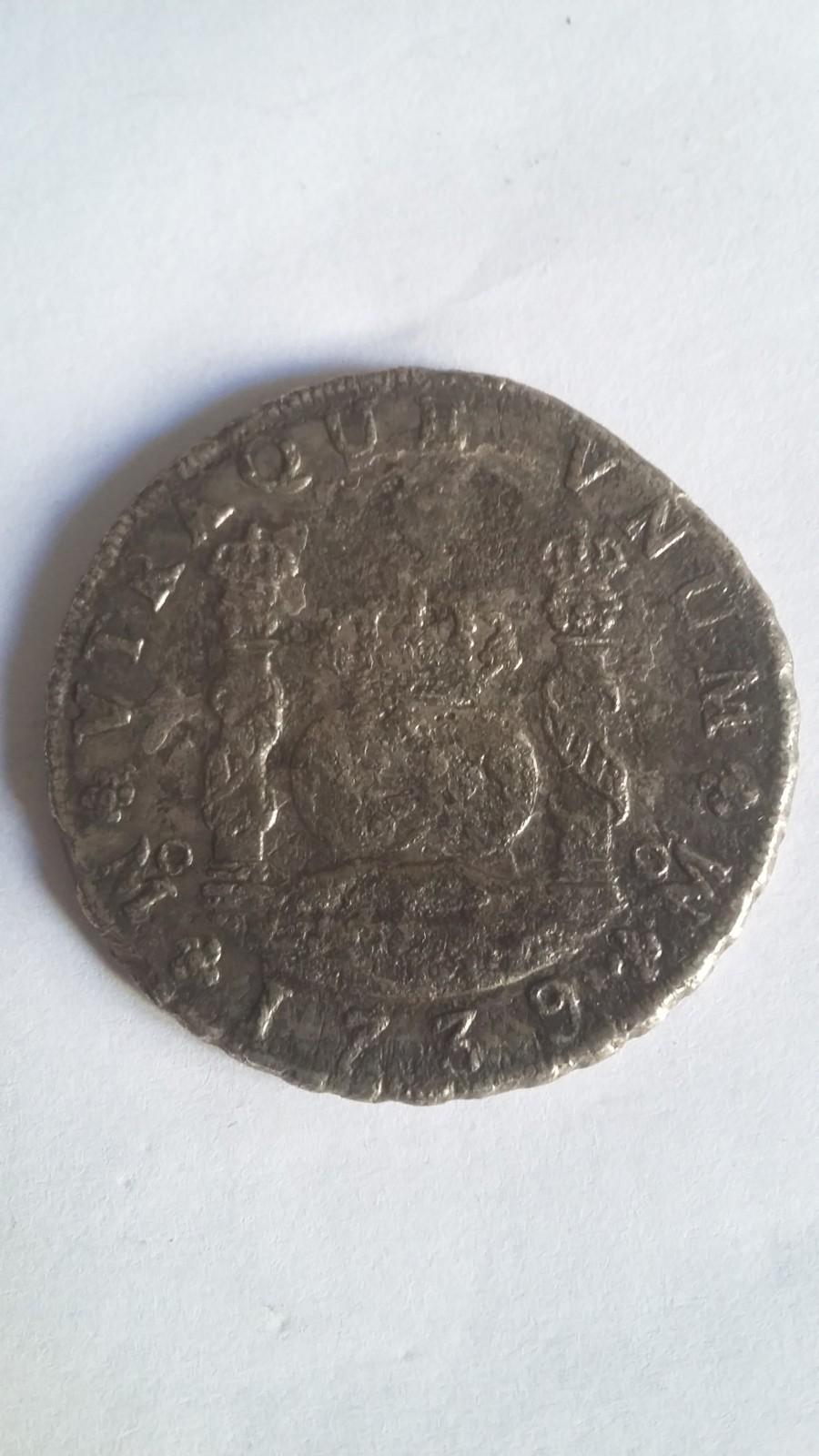8 Reales. Felipe V. Mexico. 1739. Procedente del Hollandia 2z4l17c