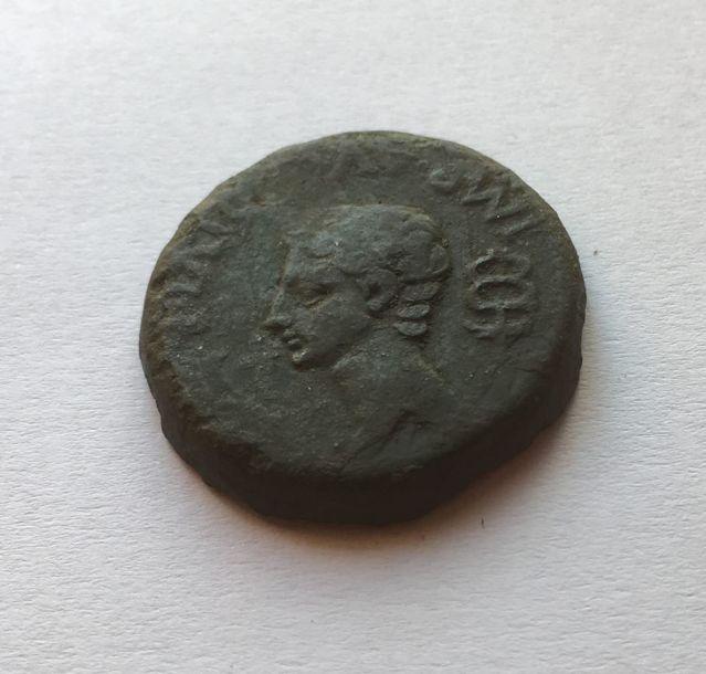 Dupondio de Lucus Augusti (r: caetra). Guerras Astur-Cántabras 2z56mao