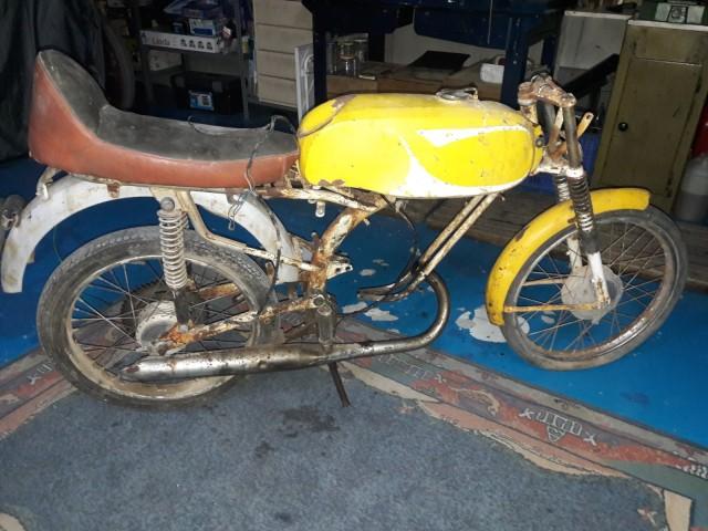 50cc - Itom 50cc de carreras 1967 2zdn69g