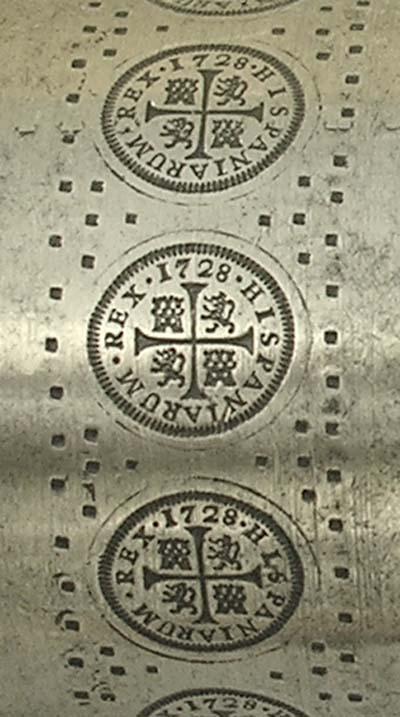 1/2 real 1719. Felipe V. Cuenca 333zl6p