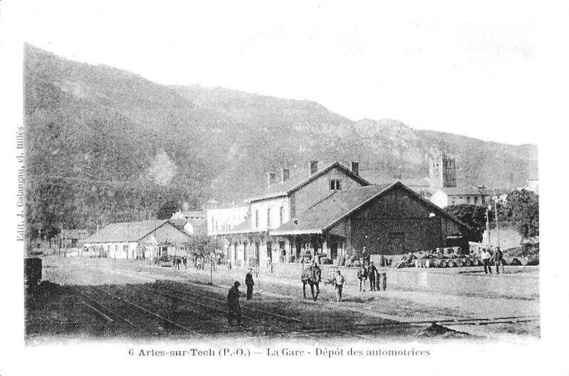 El tren petit de l'Alt Vallespir. 339sjdg