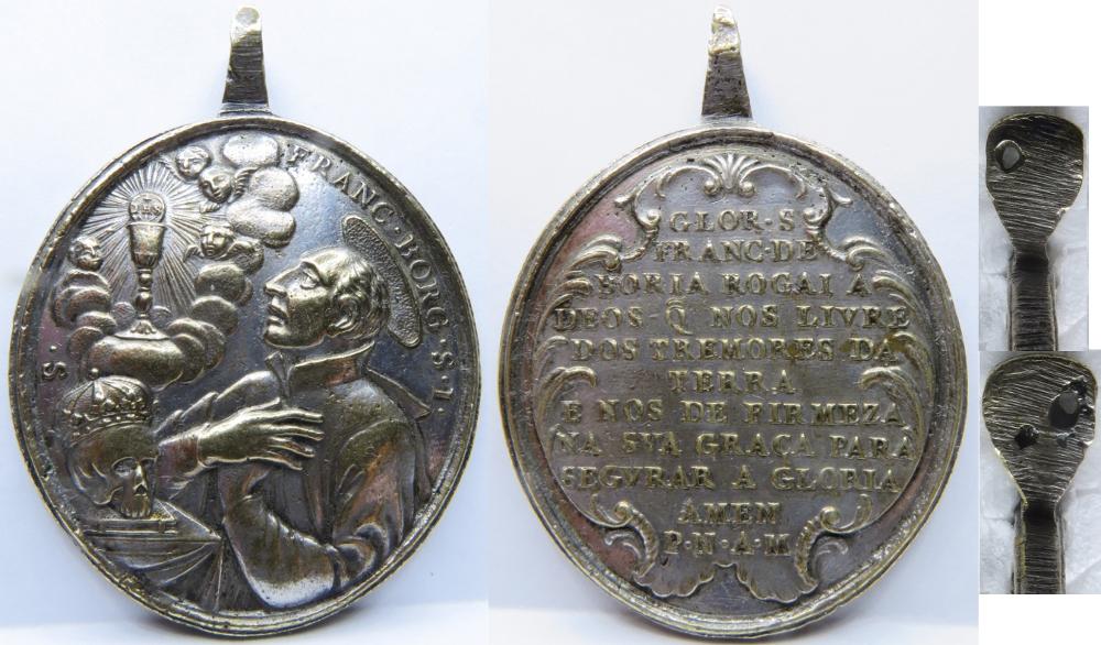 San Francisco de Borja / Oración  (R.M. SXVIII-O317) 33jsjyb