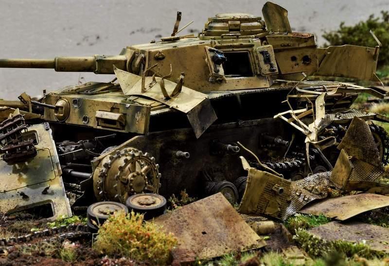 """Pz.Kpfw. IV Ausf. G, или… пламенный привет от """"зверобоя""""… 1/35 34ycq51"""