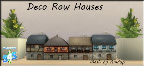 Deco Row Houses 35iyrsg