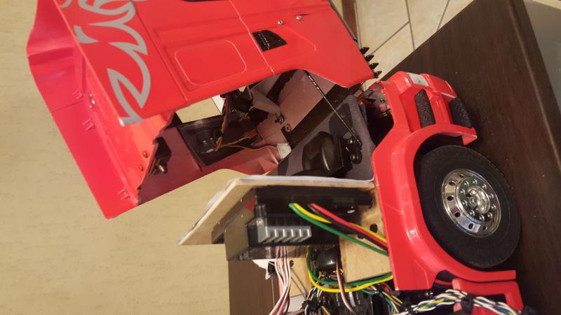 "Mi SCANIA R620 con remolque contenedor ""MAERSK"" 4pyzr5"