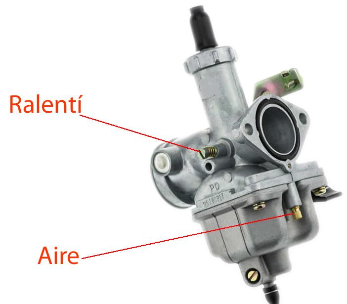 Regular/ajustar carburador PZ27 6pw375
