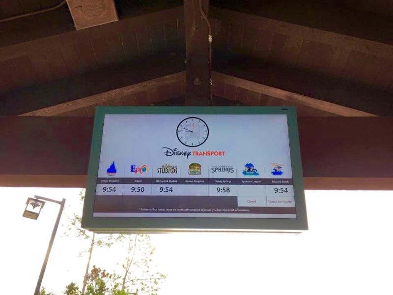 ETA signs now at all CSR bus stops 9pvqiq