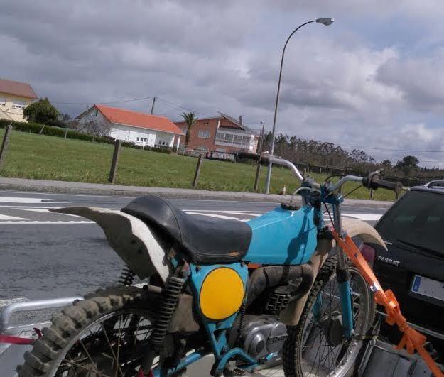 Os presento mi Bultaco Frontera 74 Azgjmt
