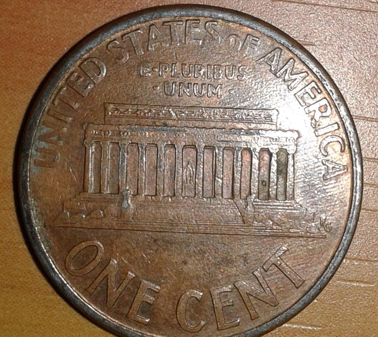 Moneda de un centavo U.S.A. 1996 Dg70i9