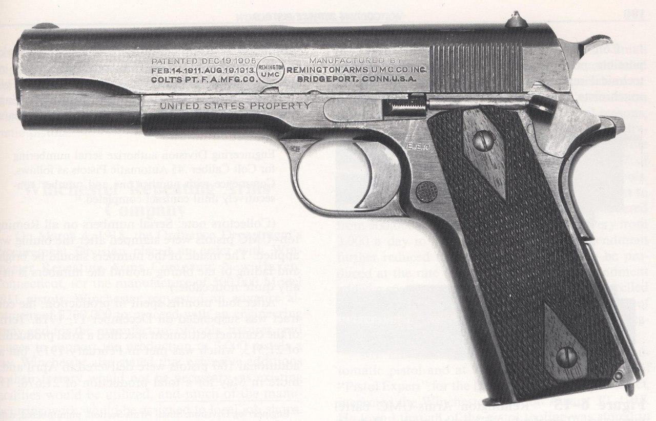 Colt 1911 A1 1943 - identification d'un marquage E6ddo0
