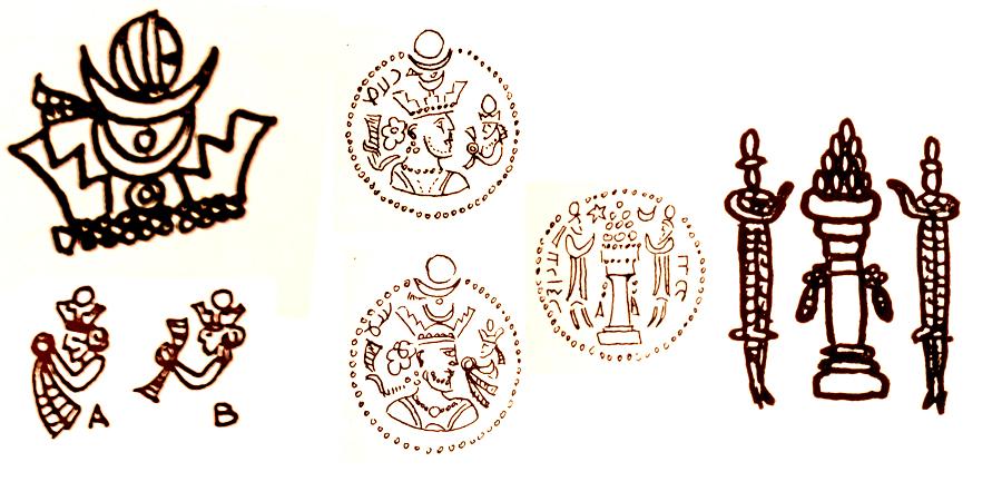Las coronas de los shas de Persia. Ego28m