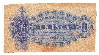 pesetas - Peru 5 Pesetas 1880 Feqwpx