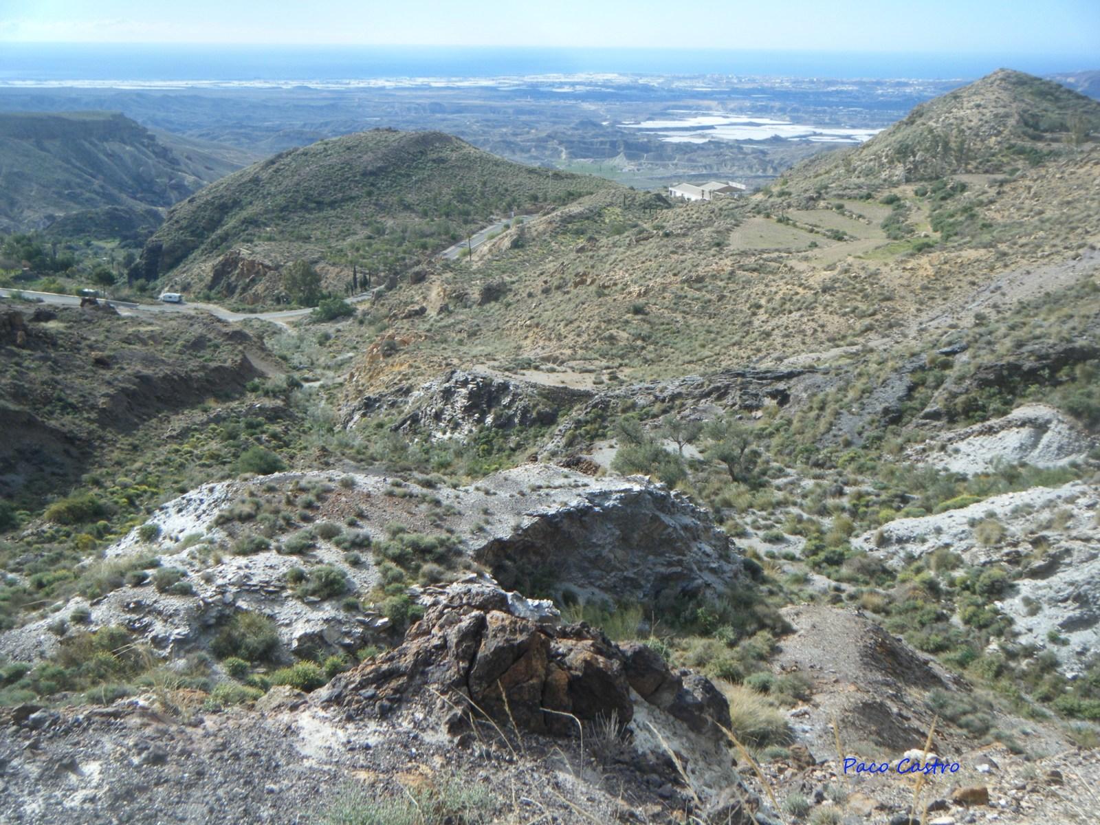 Mina Quince de Noviembre, Los Baños de Sierra Alhamilla, Pechina, Almeria, Andalucia, España Ff8mpx