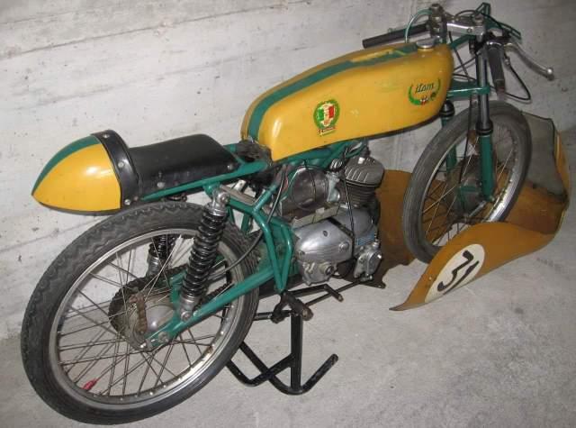 50cc - Itom 50cc de carreras 1967 Fwm62c
